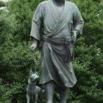 西郷隆盛の犬の名前や種類は?なぜ上野公園の銅像で一緒に並べた?